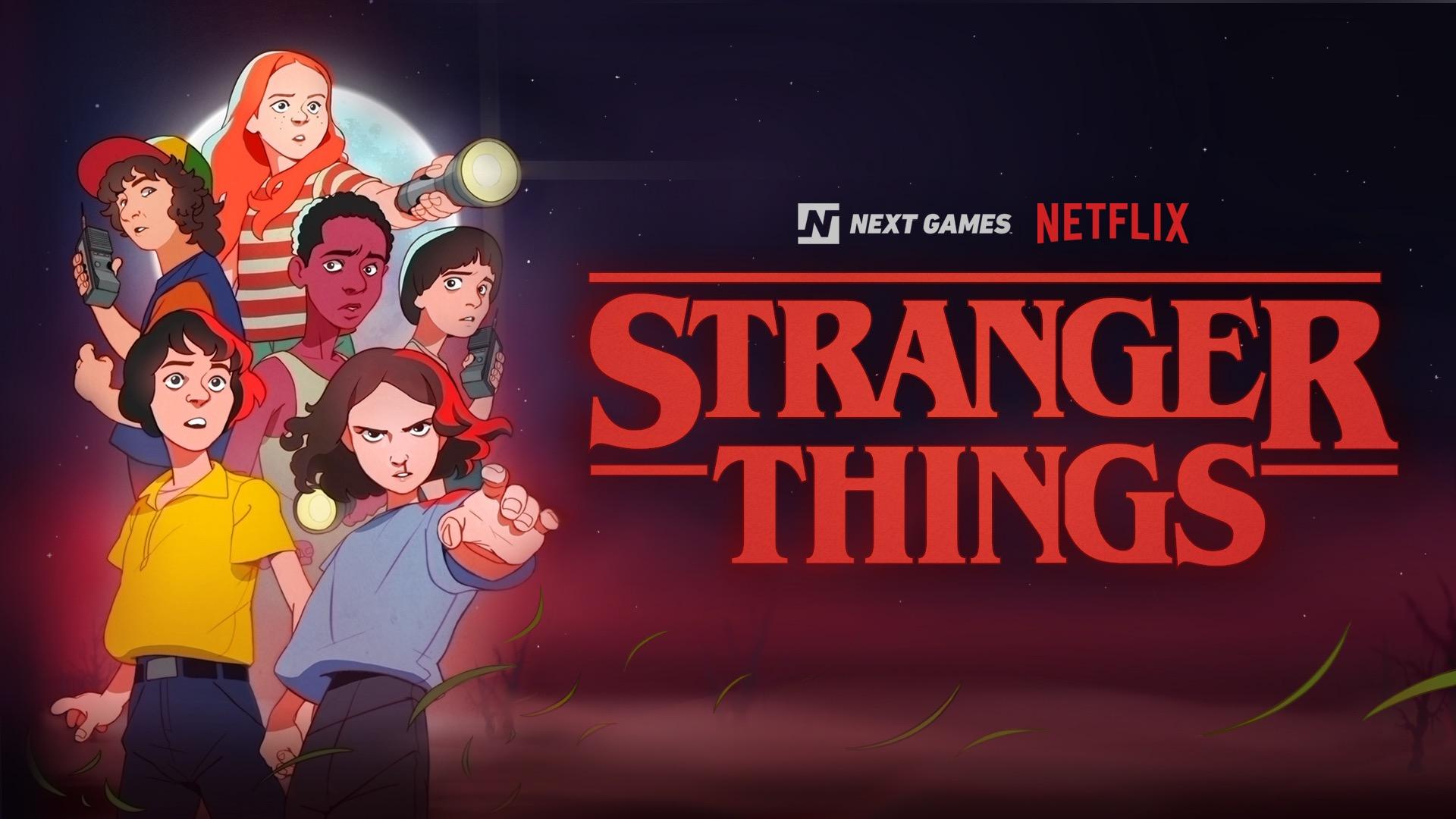 Futuro jogo RPG de Stranger Things para iOS e Android