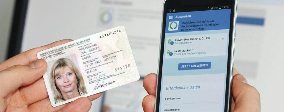 Documento de identificação alemão digital
