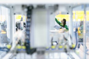 Fábrica da Foxconn na China