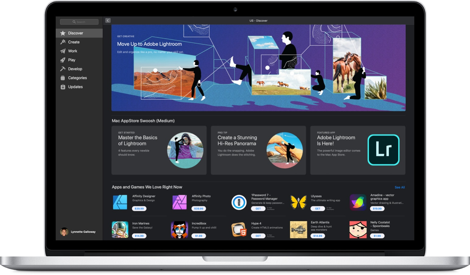 Adobe Lightroom na Mac App Store