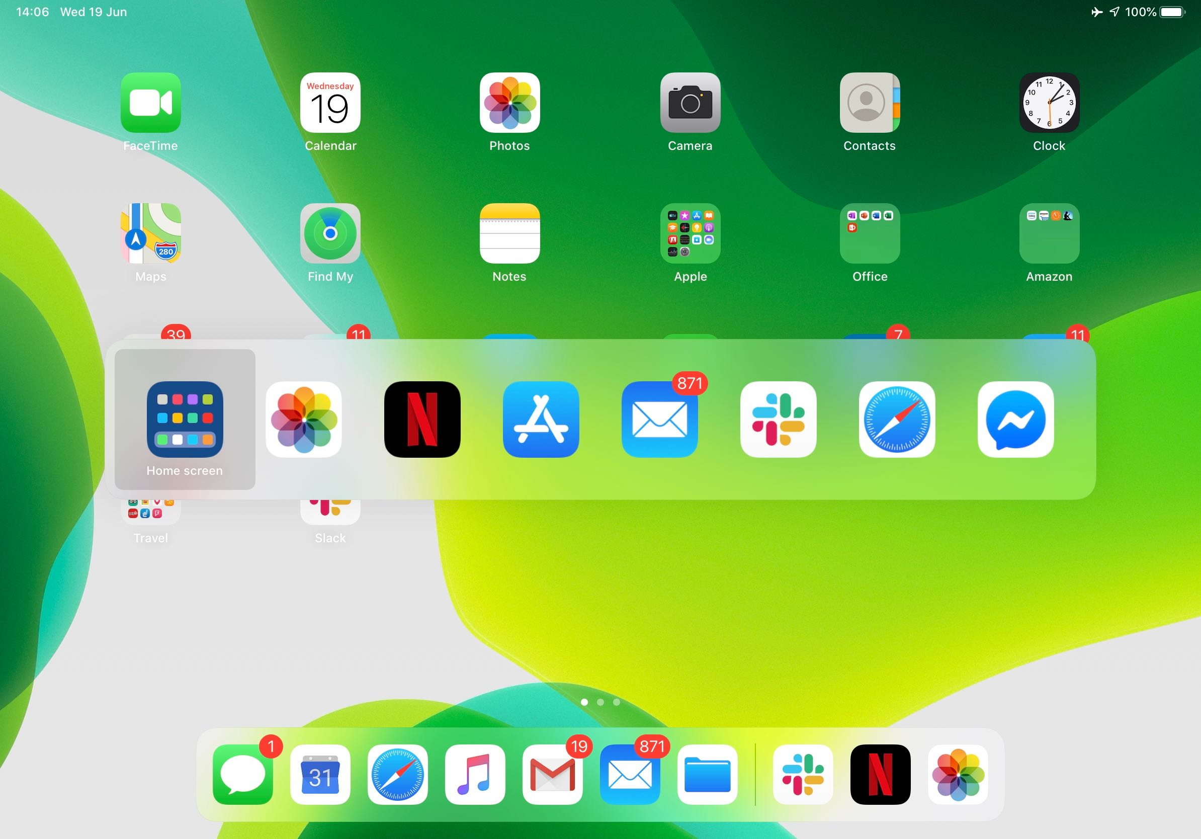 Novidades do iPadOS 13 - Novo ícone para a tela inicial