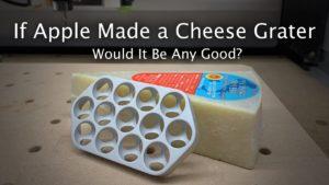 Mac Pro como ralador de queijo