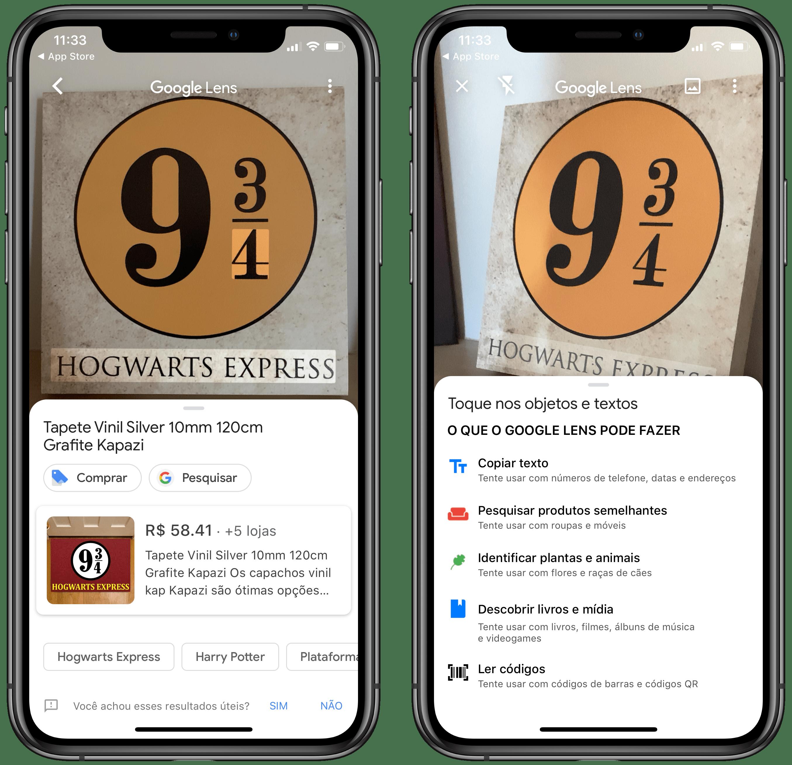 Google Lens no iOS