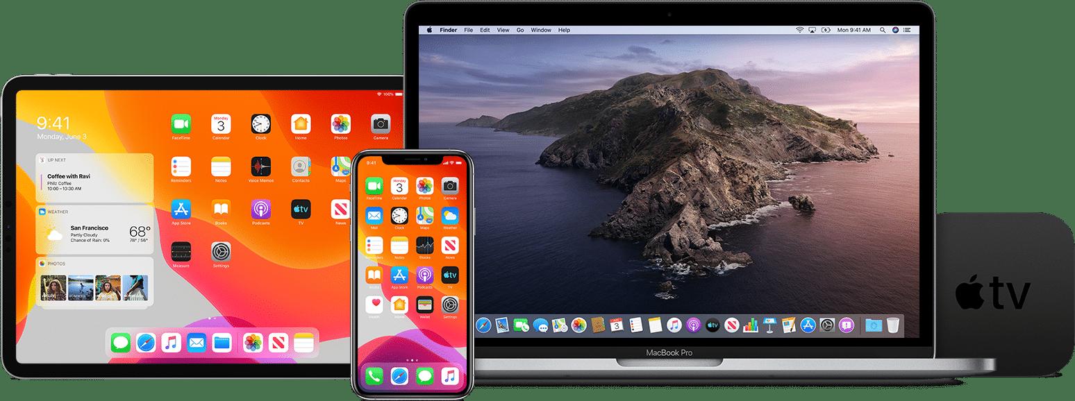 Versões beta públicas do iOS 13, do iPadOS 13, do macOS Catalina 101.5 e do tvOS 13 - Apple Beta Software Program