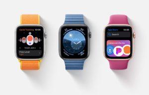 Versão beta do watchOS 6