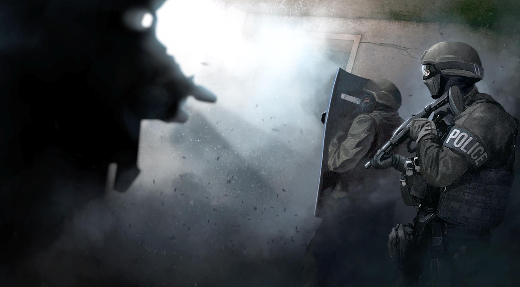 Banner do jogo Door Kickers para iOS