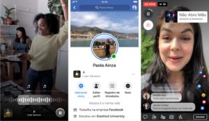 Recursos de música no Facebook e nos Instagram Stories