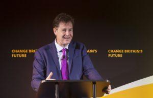 Nick Clegg, diretor de assuntos globais do Facebook