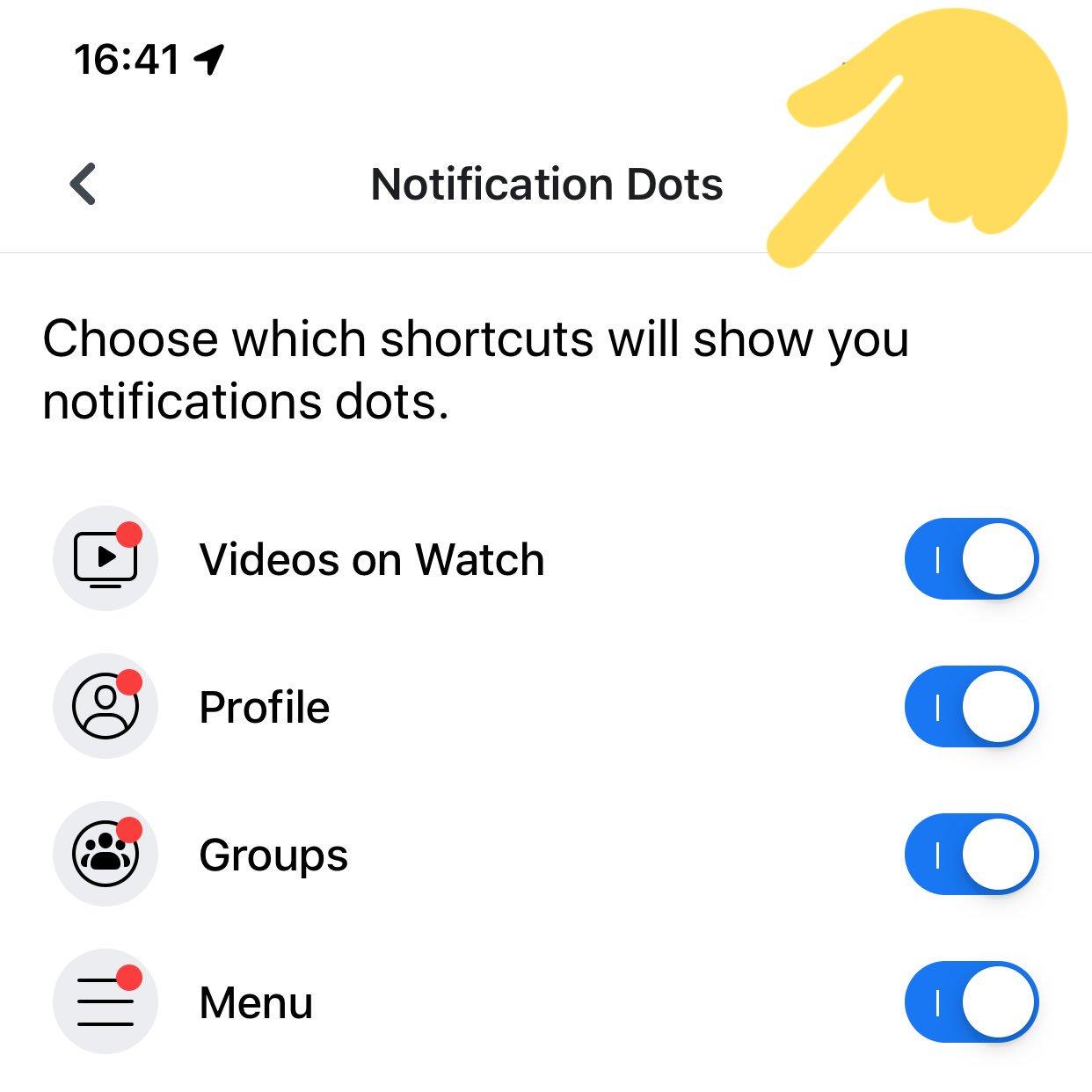 Novos controles de notificações no Facebook