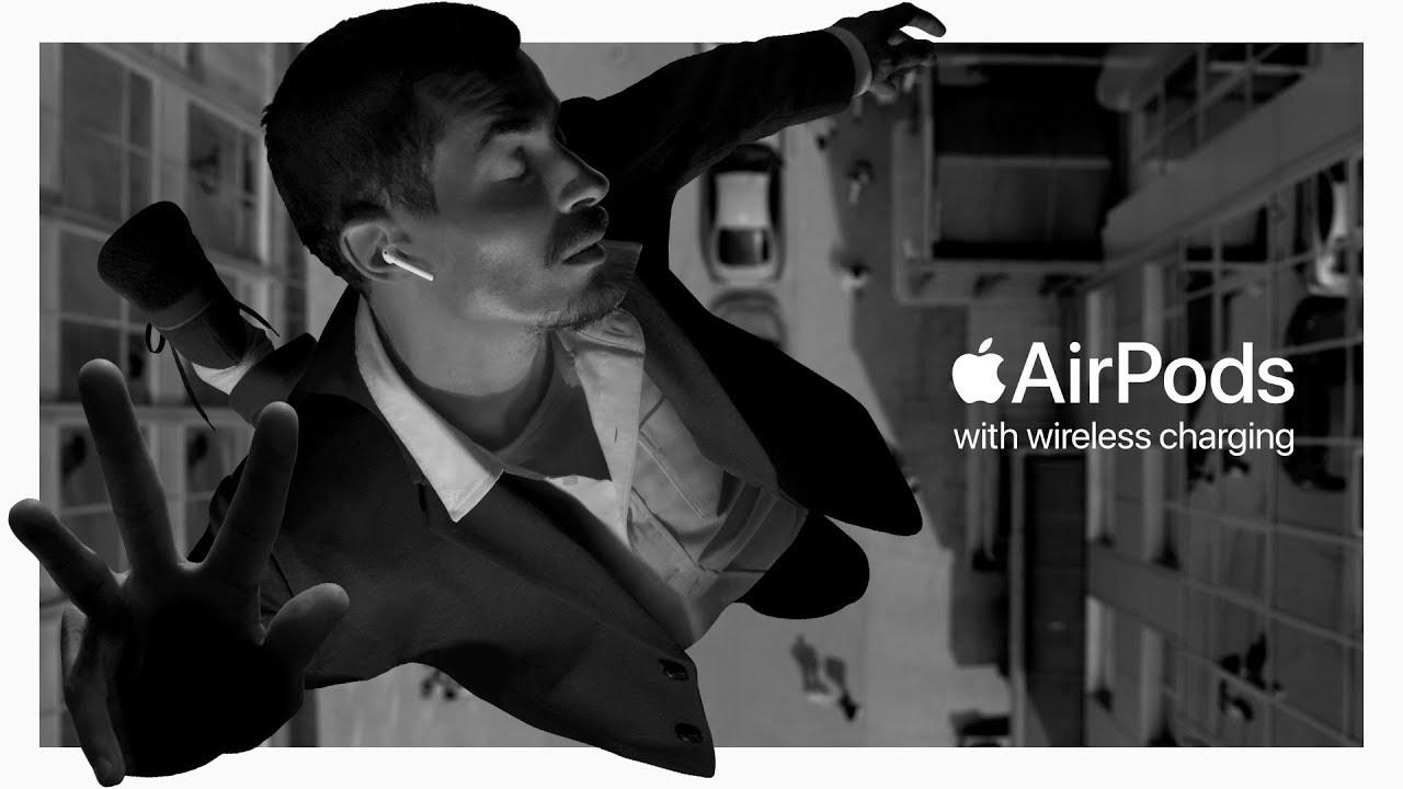 """Saltar"", novo comercial dos AirPods"