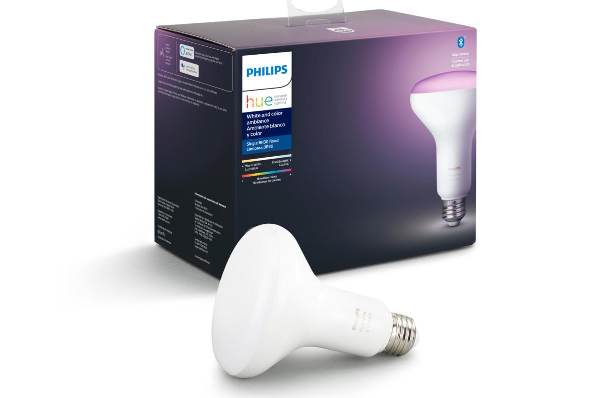 Lâmpadas Philips Hue com Bluetooth