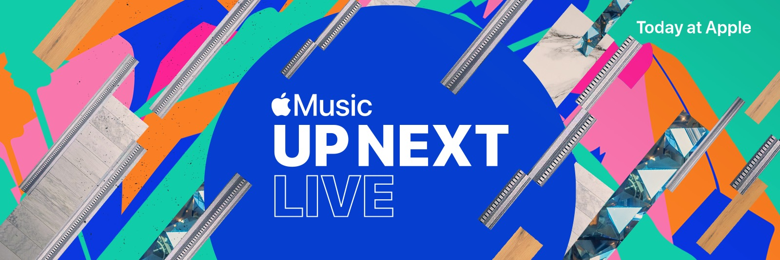 """Evento musical """"Up Next Live"""", da Apple"""