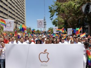 Apple na Parada do Orgulho de San Francisco de 2019