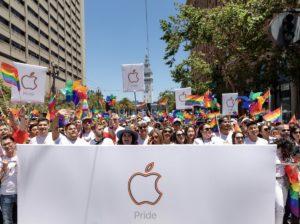 Apple na Parada do Orgulho de San Francisco de 2019