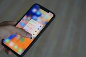 3D Touch no iPhone XR