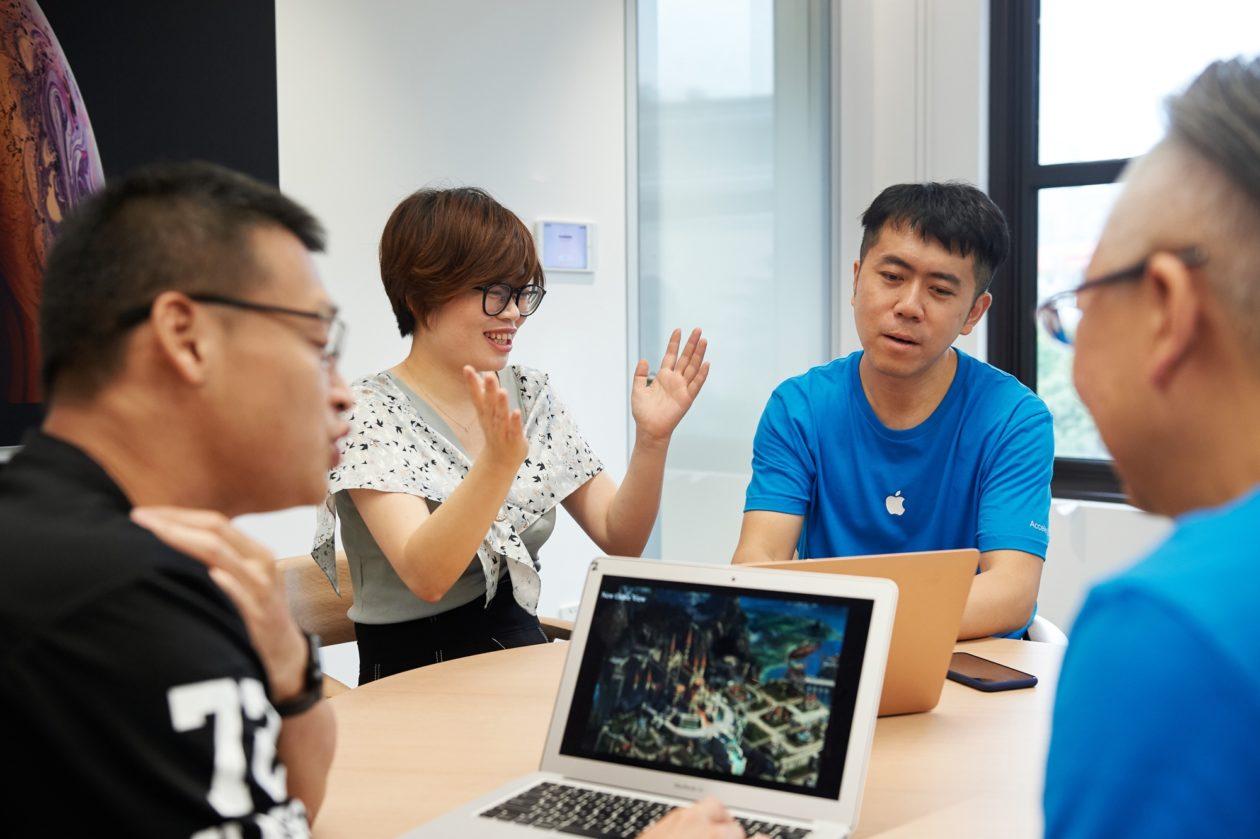 Desenvolvedores em Aceleradora da Apple na China