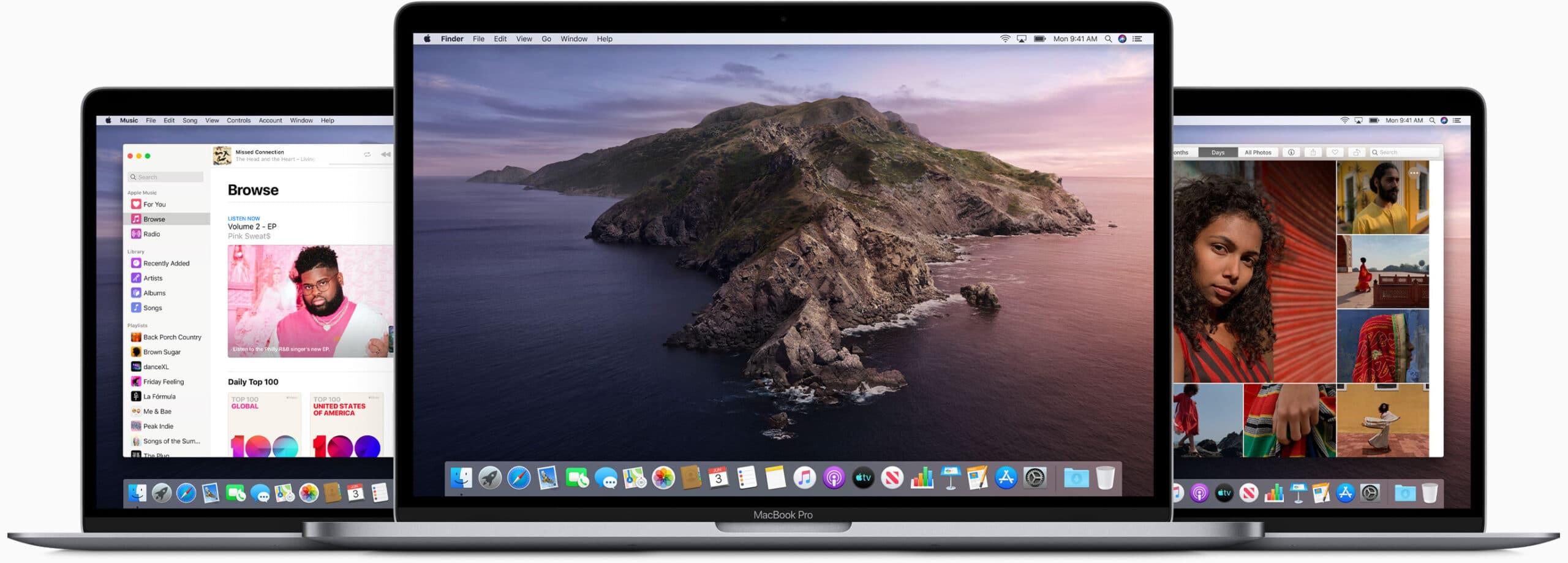 MacBooks Air e Pro