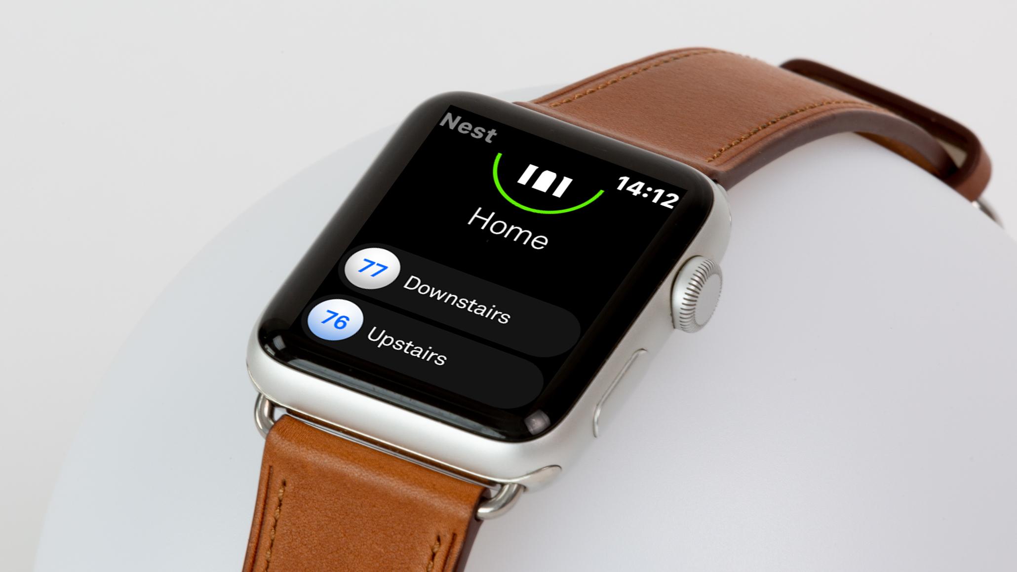App Nest para Apple Watch