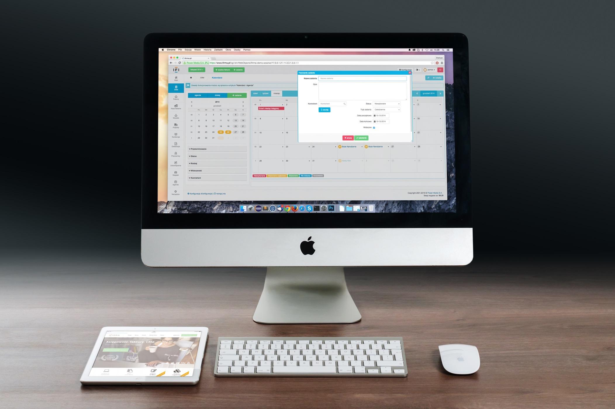 iMac e iPad