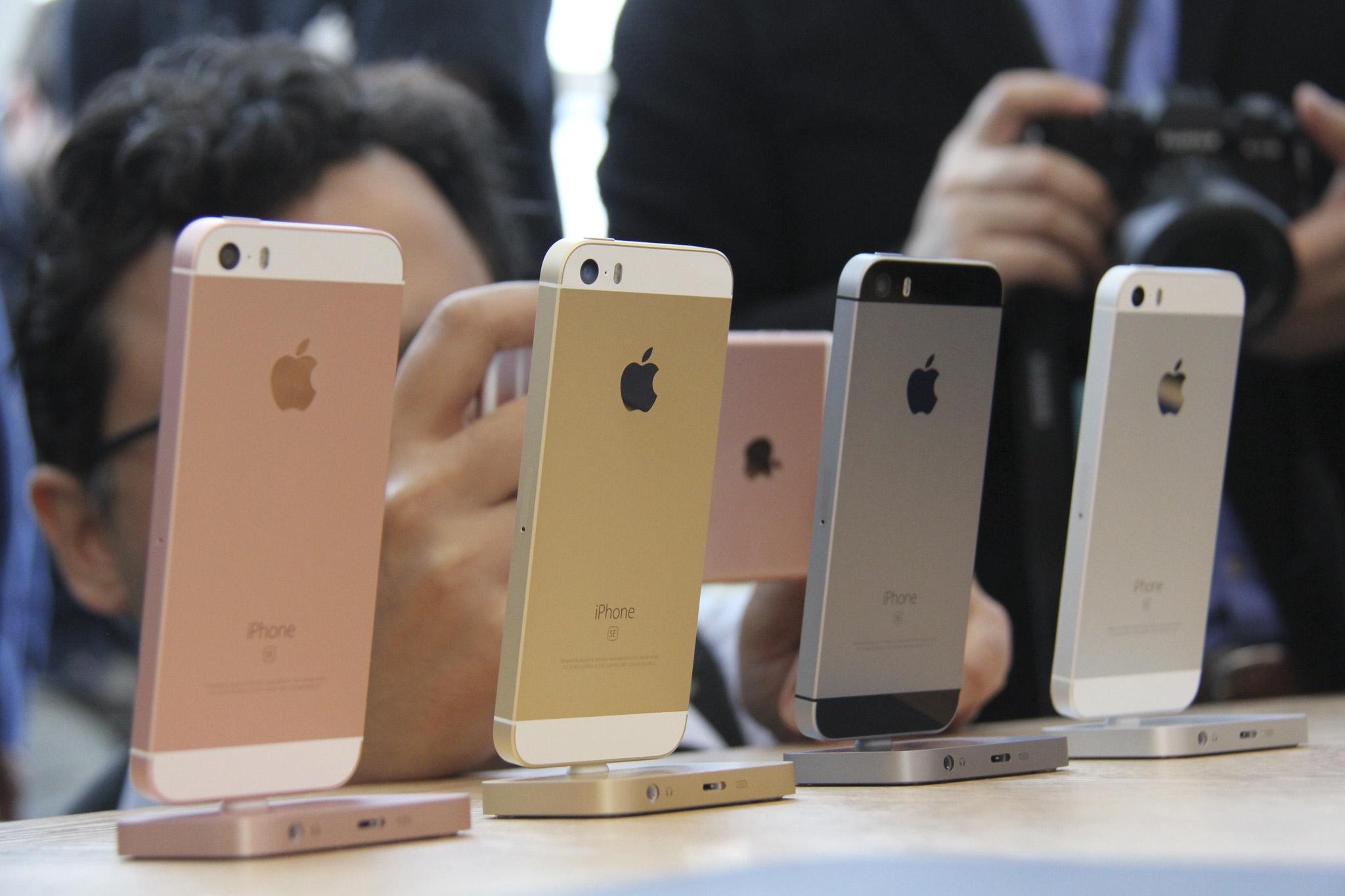 Lançamento do iPhone SE