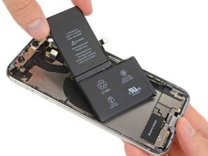 Bateria do iPhone X