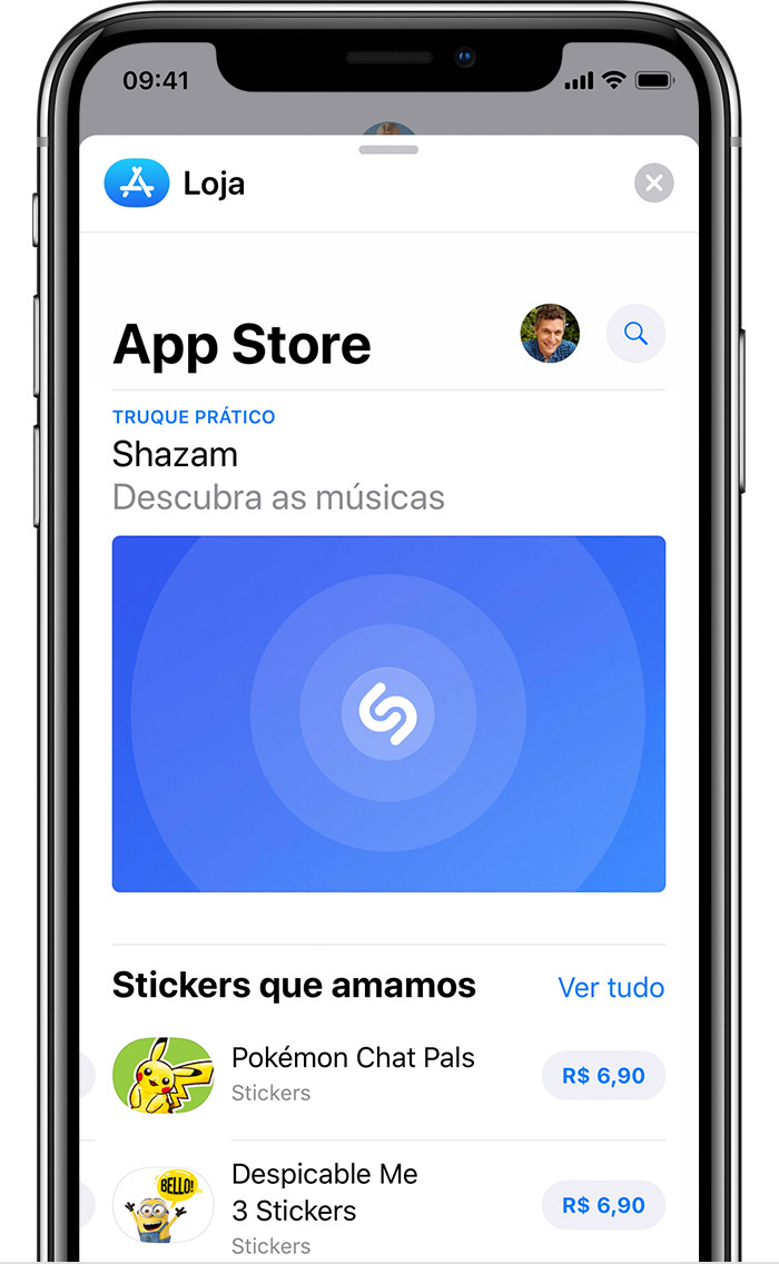 App Store do iMessage