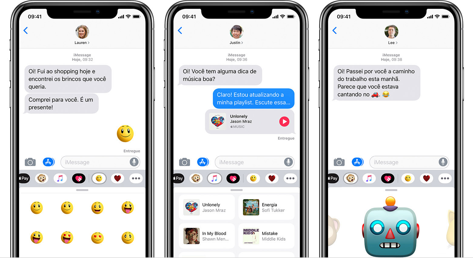 Apps do IMessage