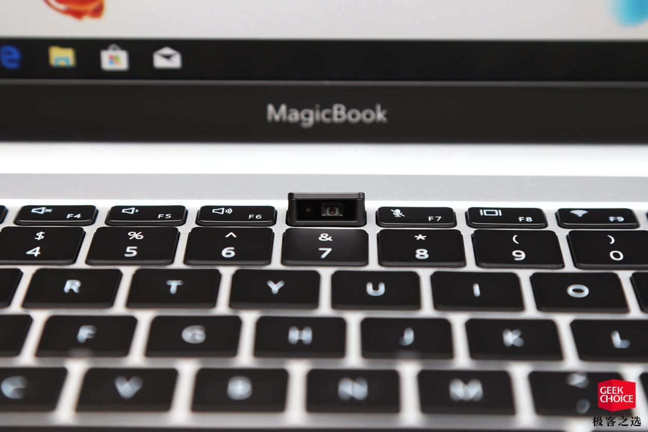 Webcam do honor MagicBook Pro
