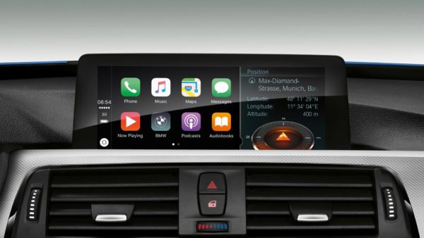 CarPlay num BMW