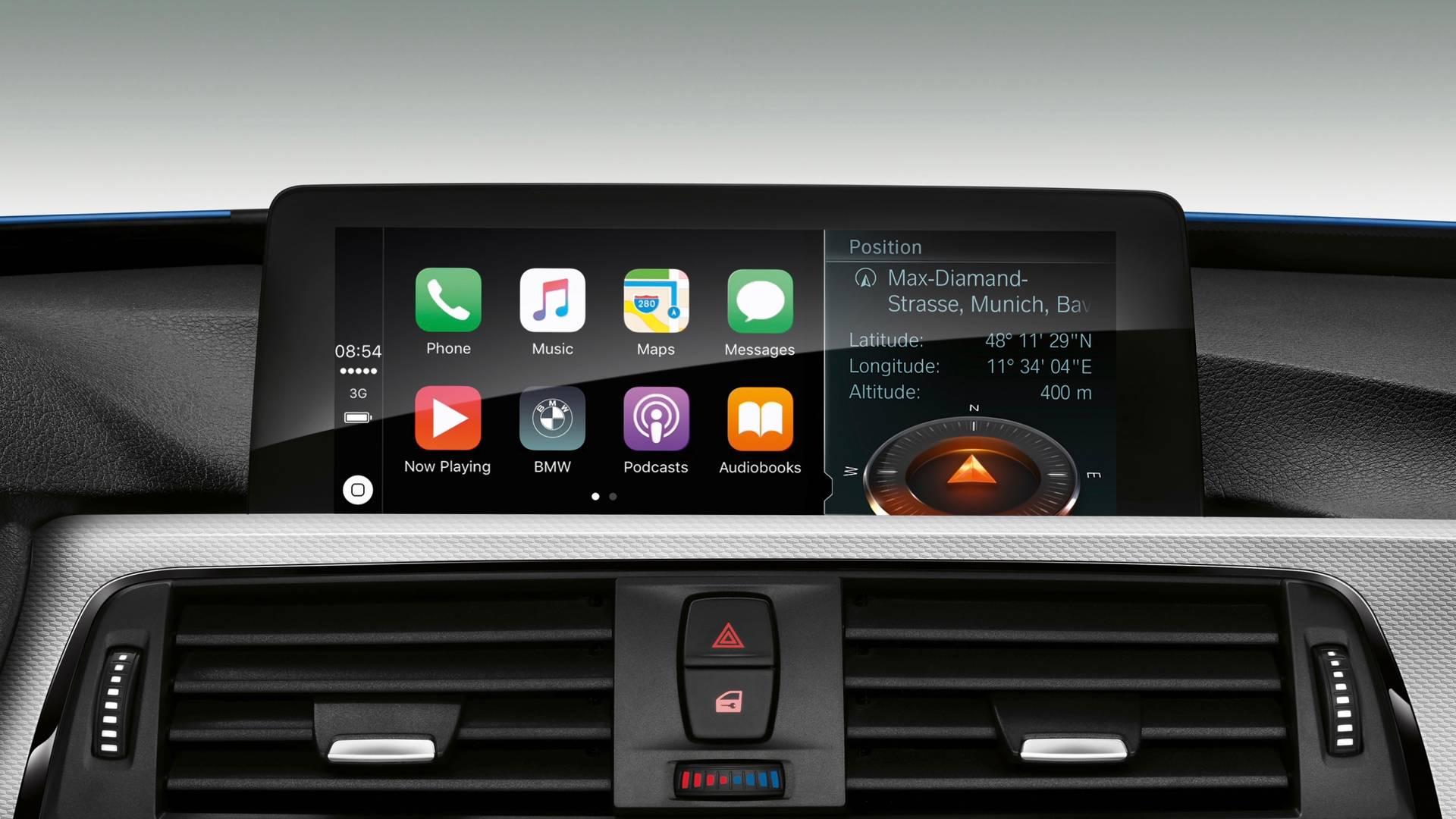 CarPlay num BMW