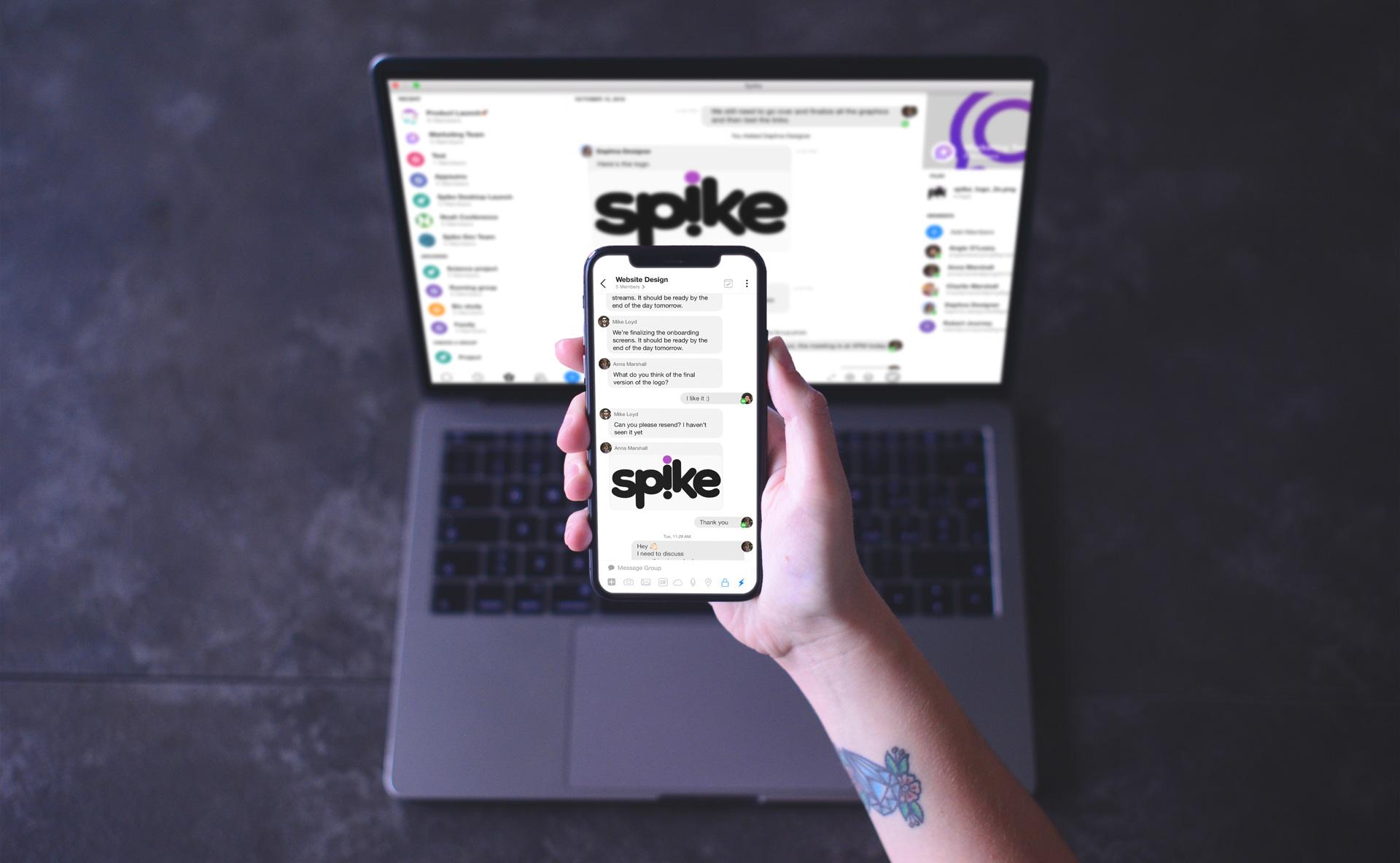 Spike no Mac e no iPhone