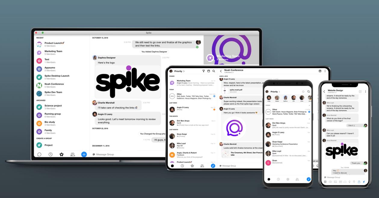 Spike em múltiplas plataformas