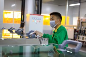 Trabalhador da Foxconn