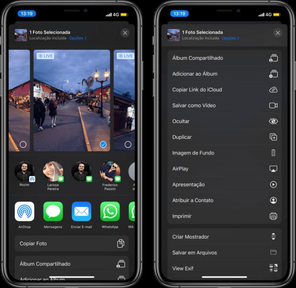 Novidades do iOS 13 beta 5