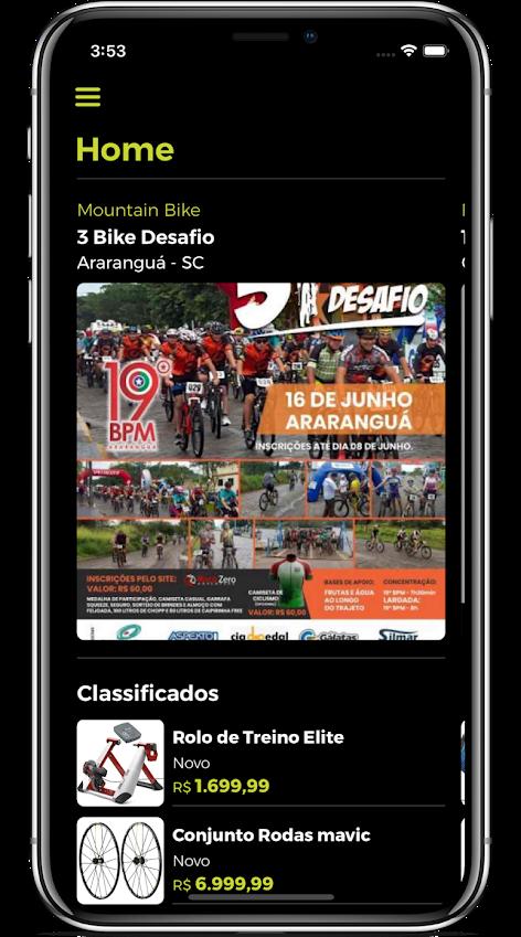 Biking, app brasileiro para ciclistas