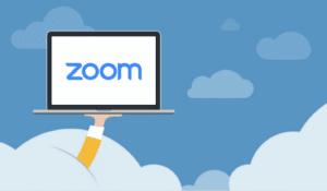 App de videoconferência Zoom