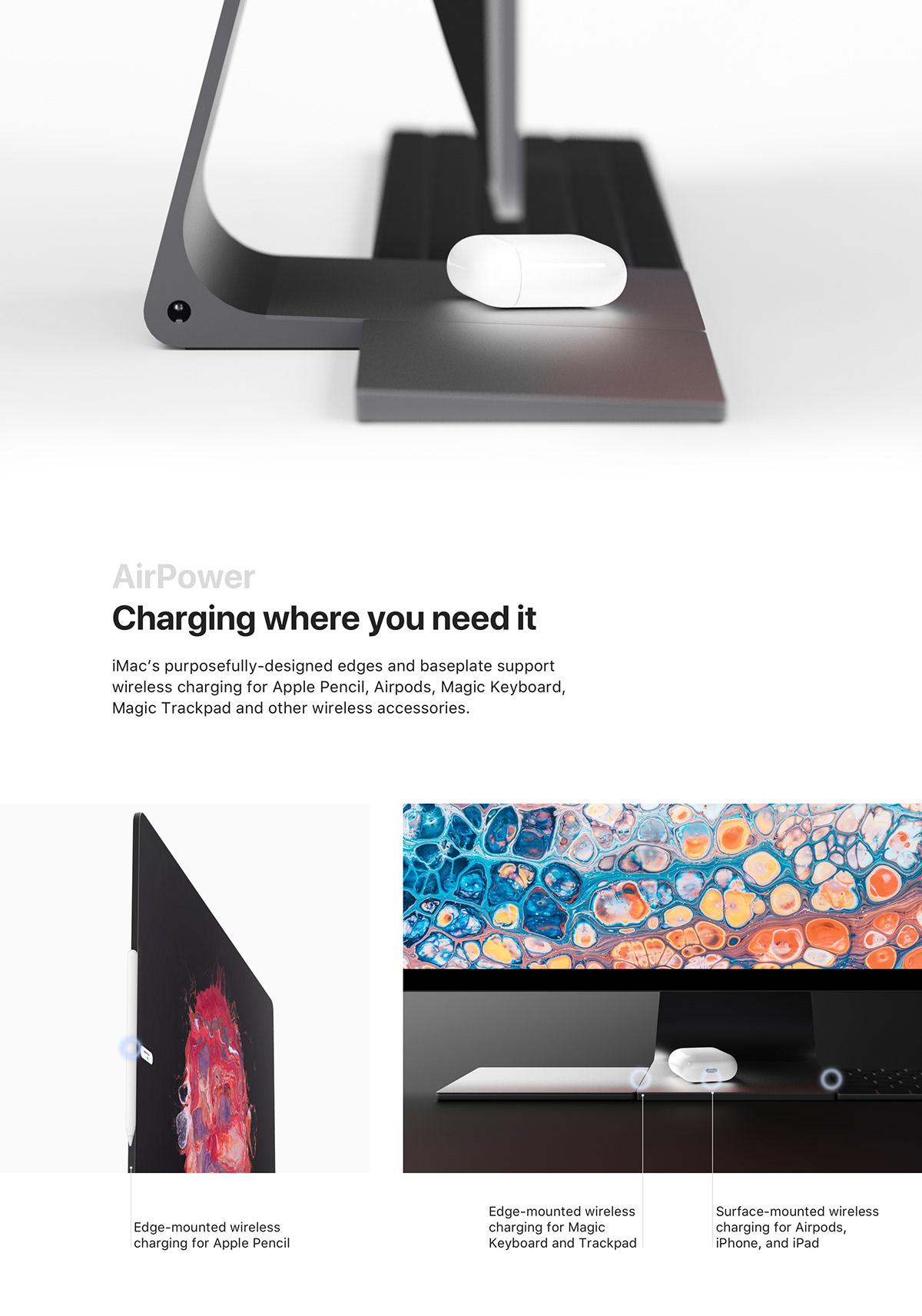 Conceito de iMac por Philip Goolkasian