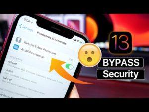 Vulnerabilidade da versão beta do iOS 13