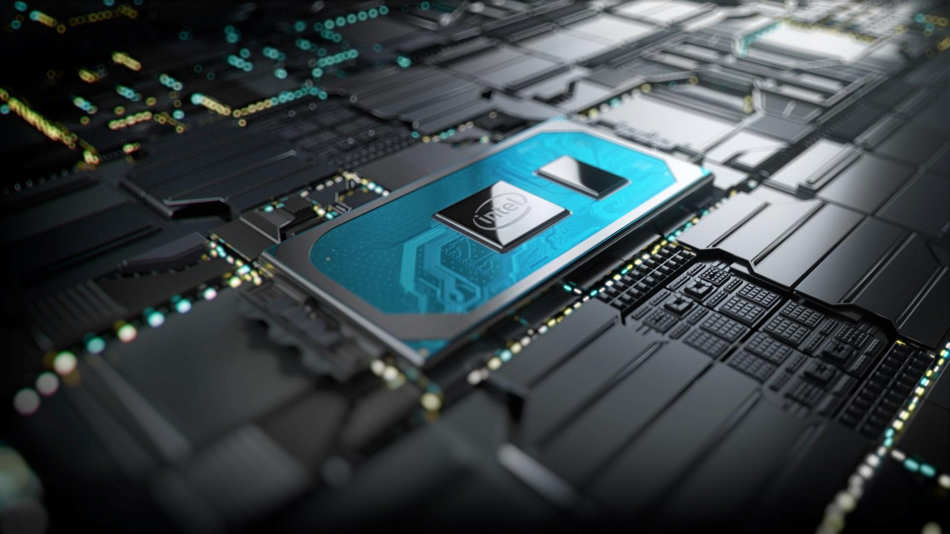 """Placa lógico com chip Intel """"Ice Lake"""