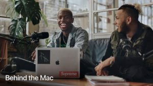 "Comercial ""Test the Impossible"", da campanha ""Behind the Mac"""