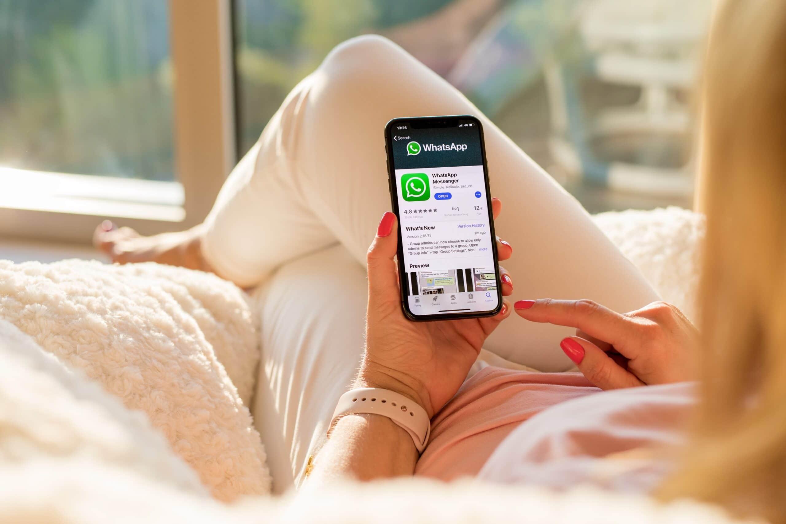 WhatsApp na App Store
