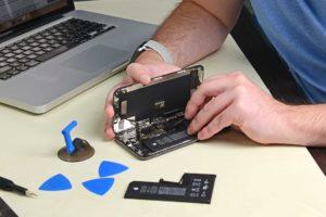 Reparo de bateria do iPhone XS