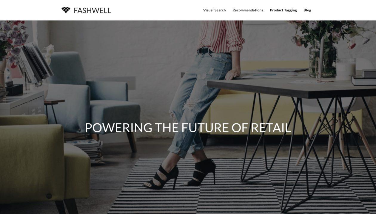 Site da startup Fashwell