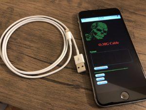 Cabo O.MG e iPhone