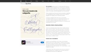 Editorial da App Store na web