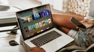 Plex rodando em um MacBook Pro