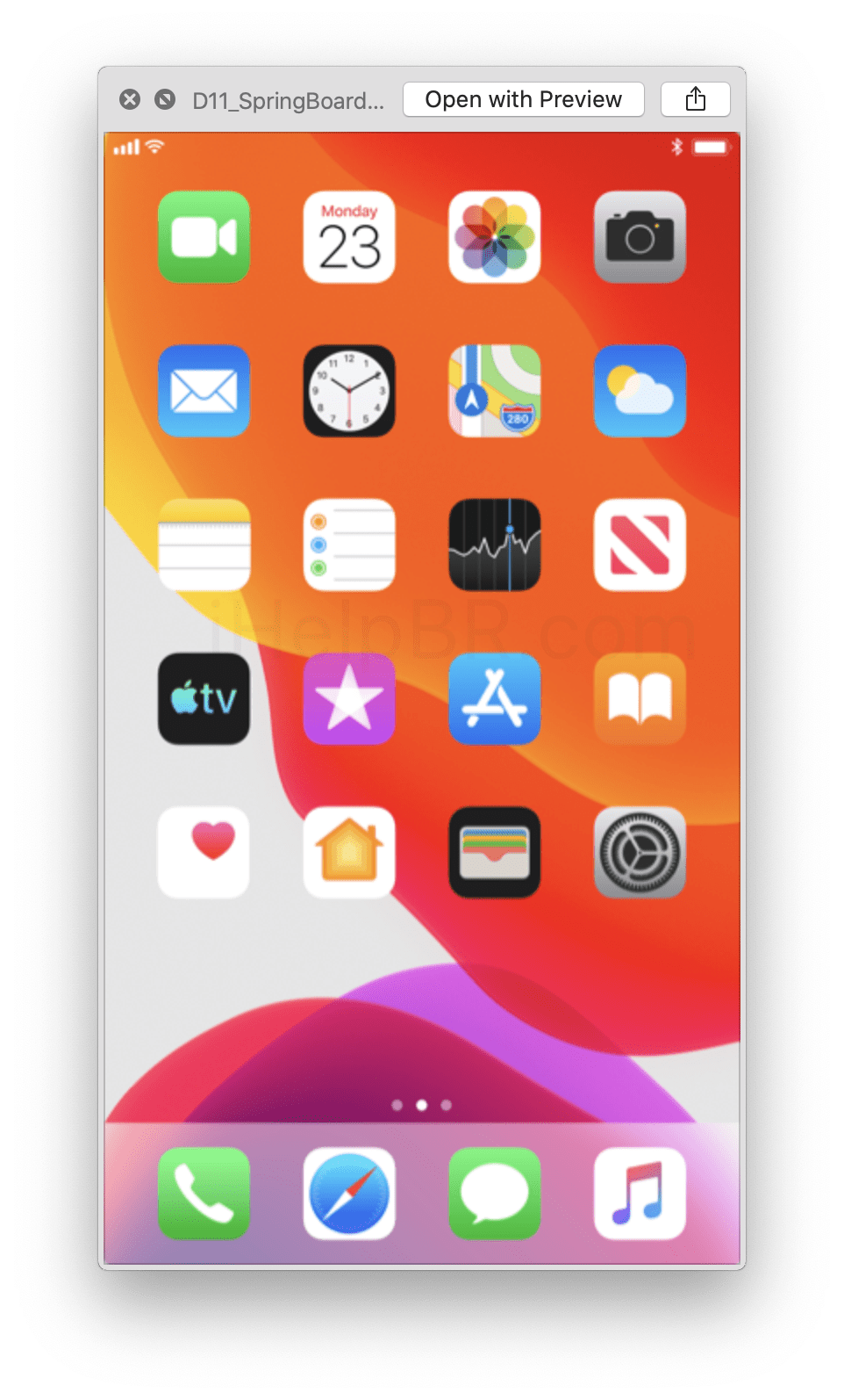 Possível data de lançamento dos novos iPhones descoberta no iOS 13 beta 7