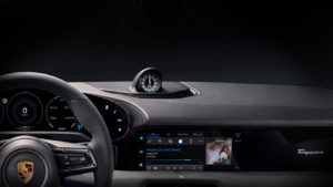 Porsche Taycan com suporte ao Apple Music