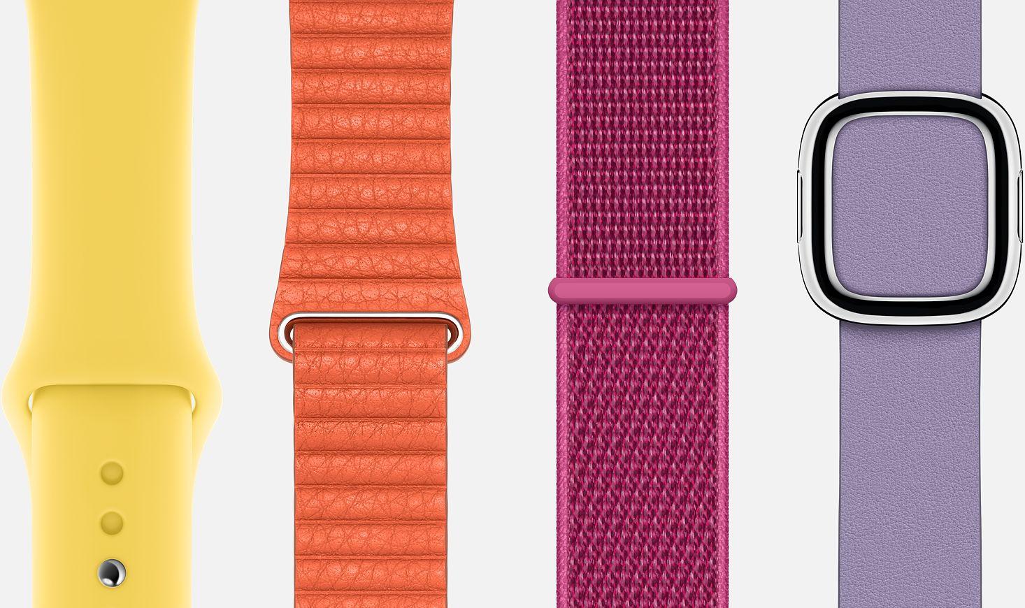Pulseiras do Apple Watch