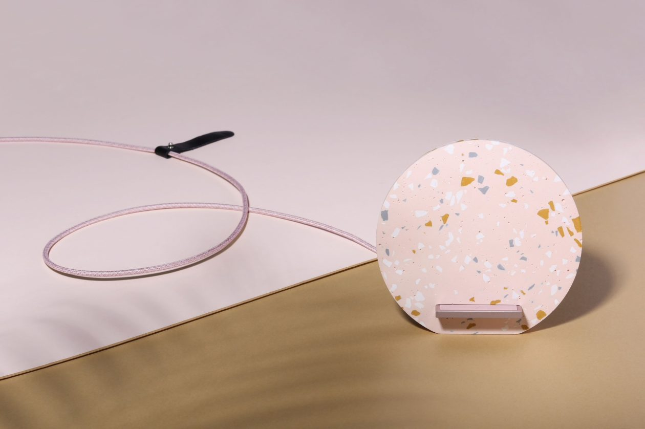 DOCK WIRELESS CHARGER Terrazzo Edition